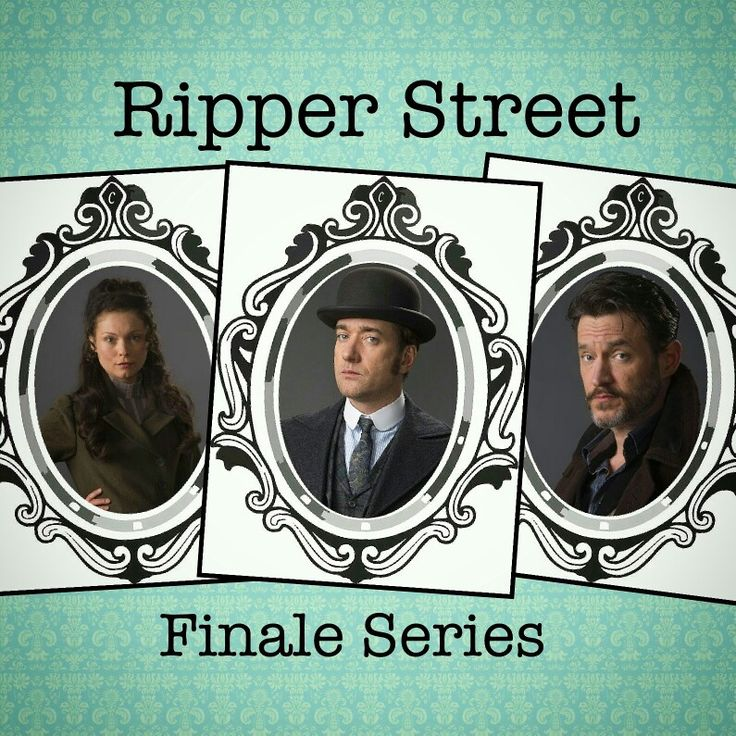 Ripper street season 5 coming to @BBCTwo