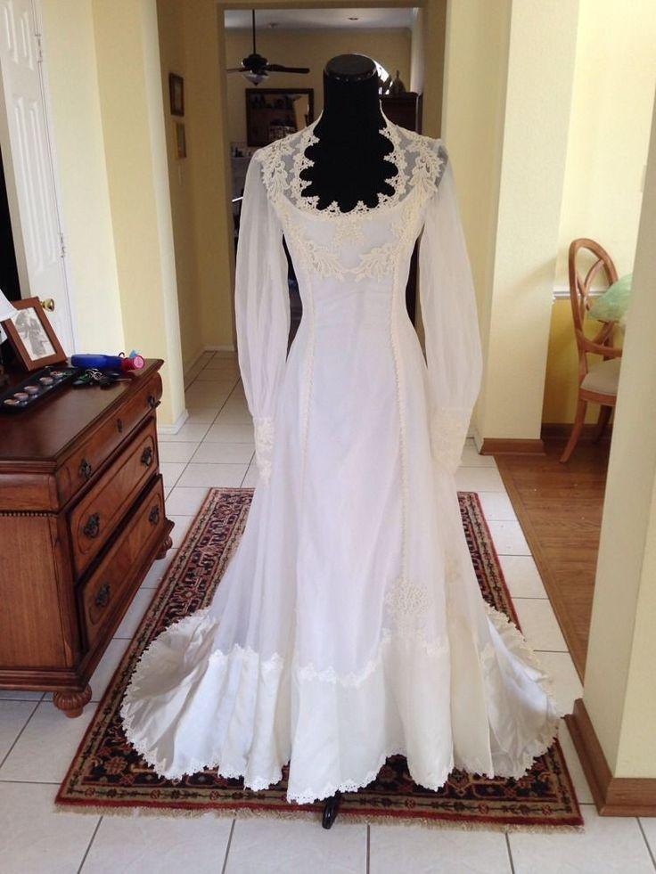 William Cahill Vintage Weddding Dress