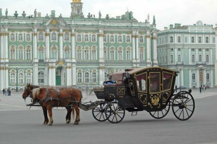 St. Petersburg, in front of Catherine's Palace