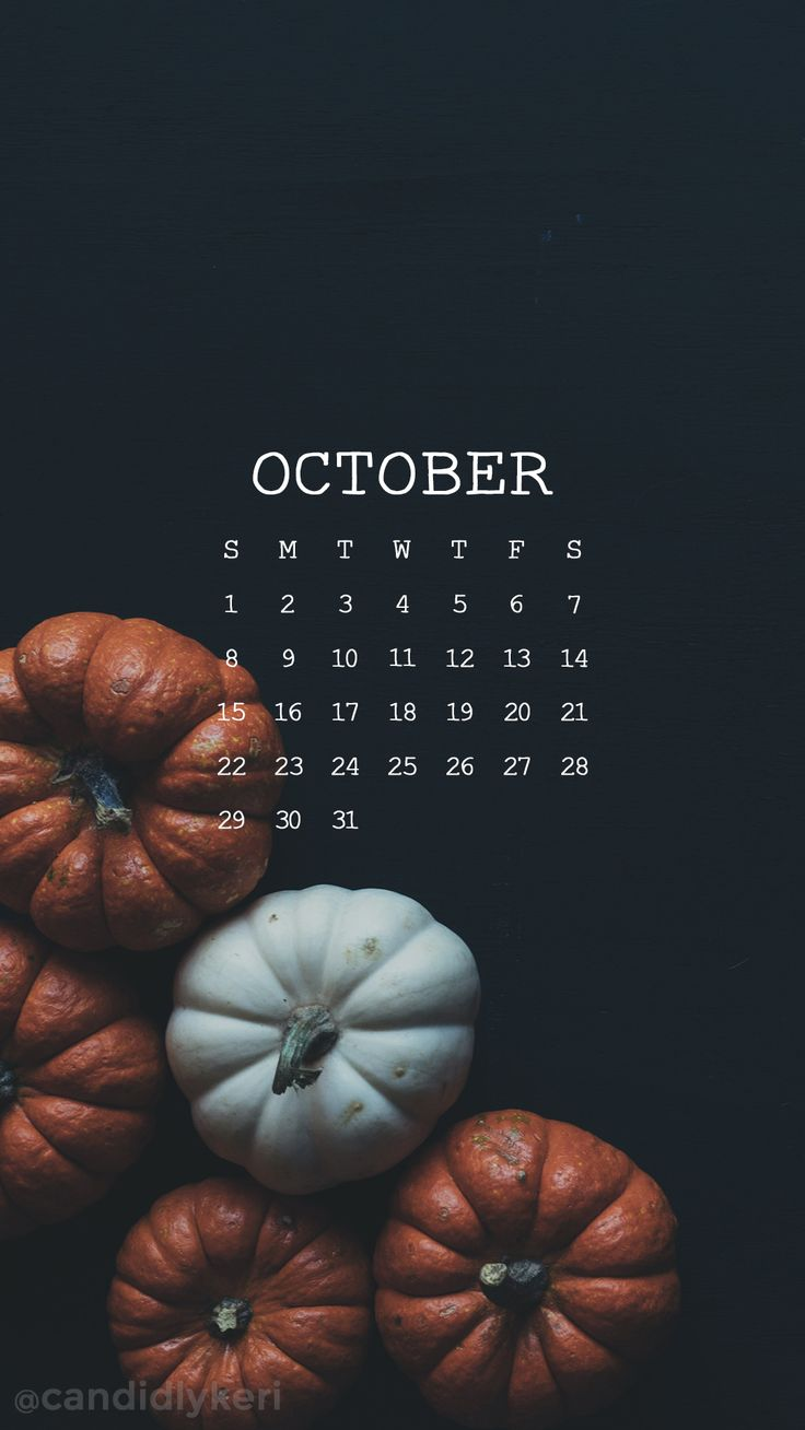 October calendar 2017 wallpaper you can download for free on the blog! For any device; mobile, desktop, iphone, android!