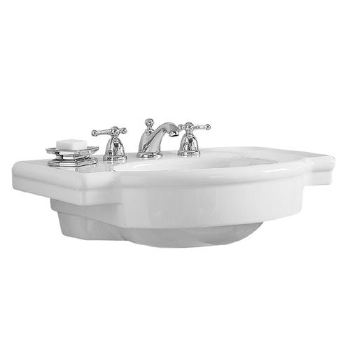 American Standard Pedestal Sink Lowes : ... Standard 12-in L x 10-in W Standard White Fire Clay Oval Pedestal Sink