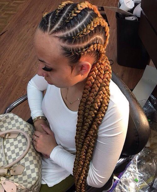 47++ Blonde cornrow braids ideas