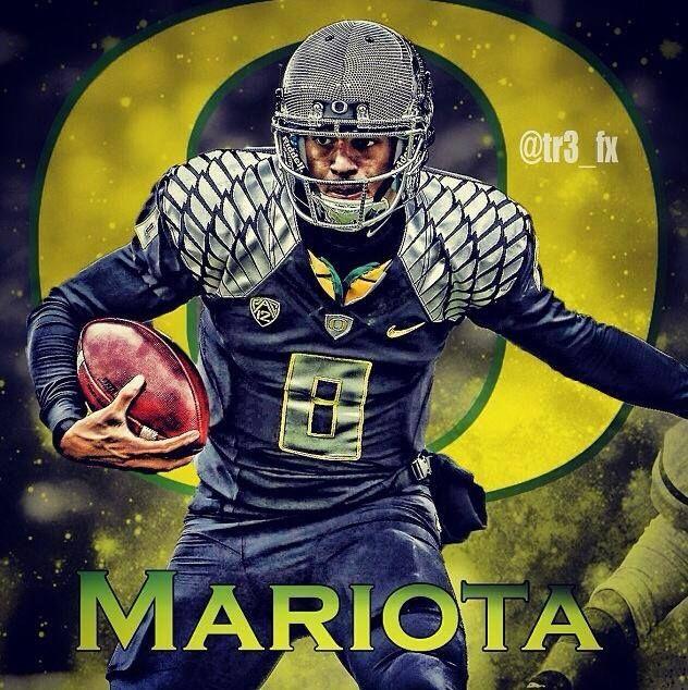 Mariota for the Oregon Ducks
