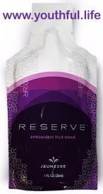 #reserve™ from #Jeunesse is a high #antioxidant product. The key ingredient is #resveratrol. Each pouch contains the equivalent resveratrol of over 180 bottles of #wine. This is a #natural product. The pouch is sealed protecting the integrity of the contents - such that the body readily absorbs and uses it. This #nutritional #supplement is outstanding! http://www.youthful.life