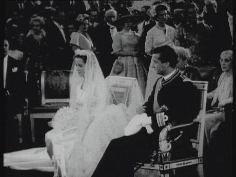 1959. Princely Wedding/ Belgia.Ślub następcy tronu [video] (REPOZYTORIUM CYFROWE FILMOTEKI NARODOWEJ) #wedding, #retro
