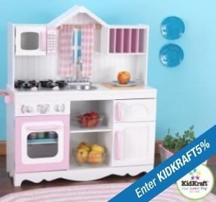 The terrific KidKraft Modern Country Kitchen, now has 5% off with ...