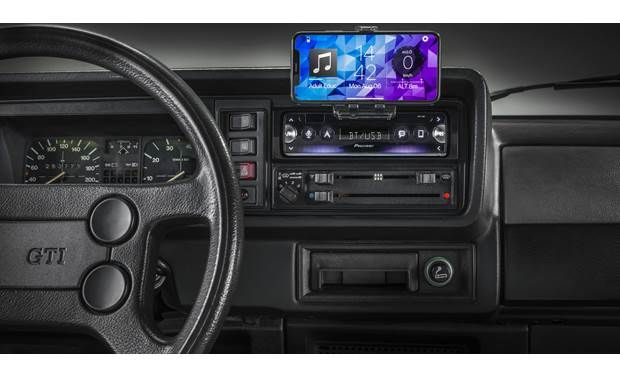 Pioneer Sph 10bt Digital Media Receiver Does Not Play Cds At Crutchfield Car Audio Crutchfield Car Stereo