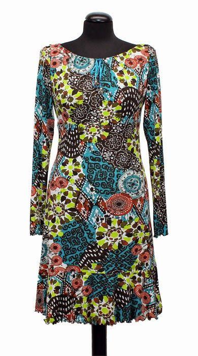 yo elijo coser: Patrón gratis: vestido sencillo de punto (tallas 36 a 52)