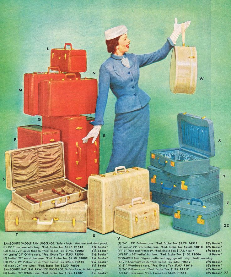 Samsonite 1957 http://www.pinterest.com/pin/35677022023173613/