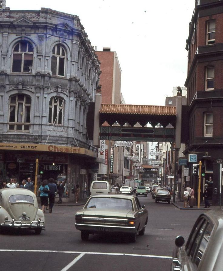 Little Bourke St, Melbourne
