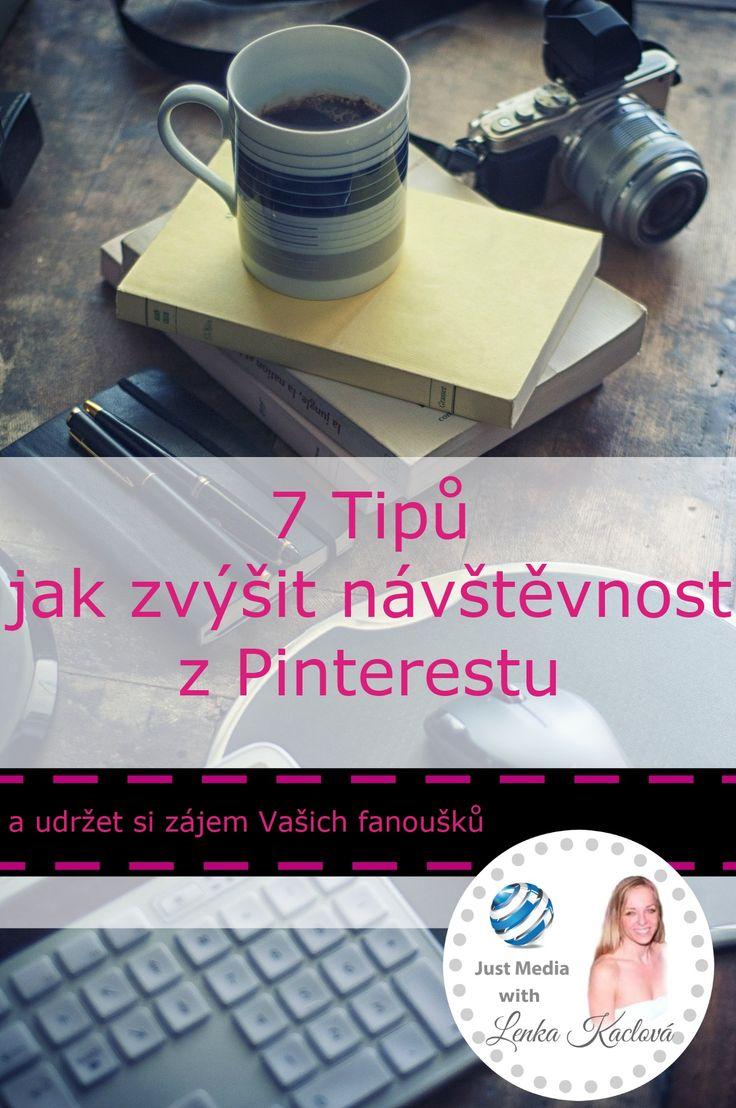 Úspěšný firemní profil, jak zvýšit návštěvnost z Pinterestu a udržet si zájem svých fanoušků, #pinterest #pinteresttips #socialnisite #justmediablog