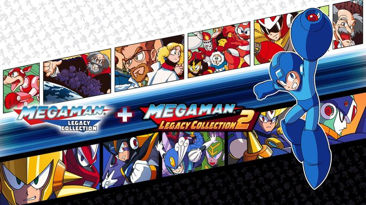 Mega Man Legacy Collection releases May 22nd http://bit.ly/2lnzap3 #nintendo