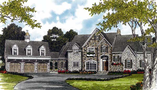 Cottage Country European House Plan 85544 European house