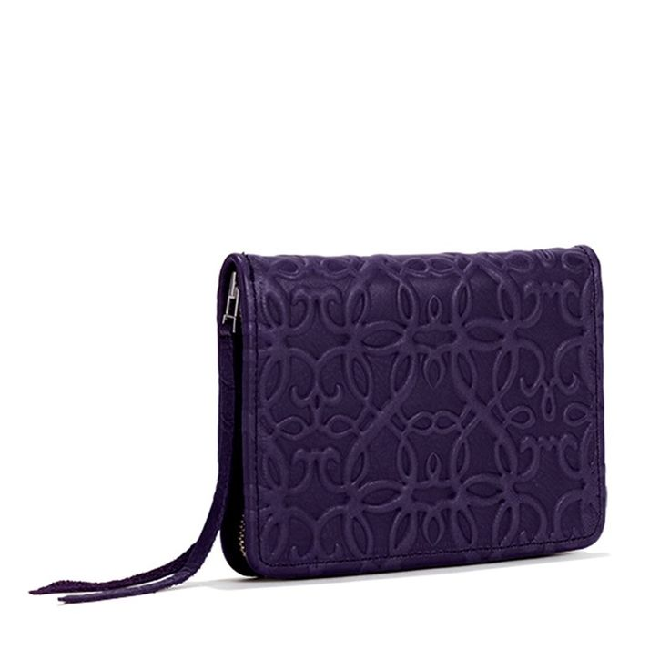 Leather Zip Around Wallet - Cascade by VIDA VIDA A2cYYF