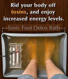 Benefits of foot detox bath- I used to do this after I cheat on my nickel diet and I won't have any allergic reactions. #nickelychallenged #nickelallergy #detox