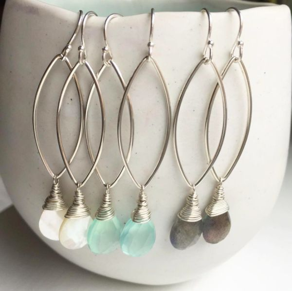 Manorial Wrap earrings