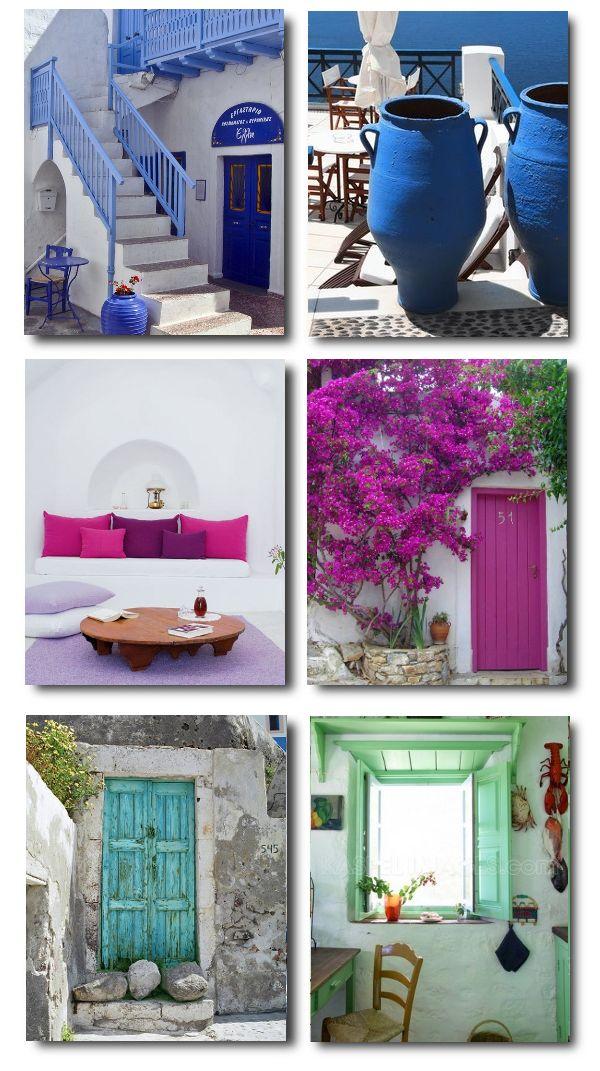 Greek Color Scheme