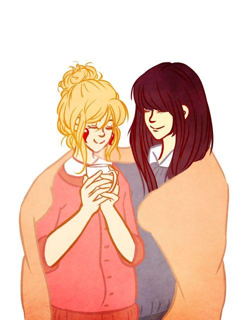 Serdaigle : Cho Chang et Luna Lovegood - J'adore Harry ...  |Luna Lovegood And Cho Chang