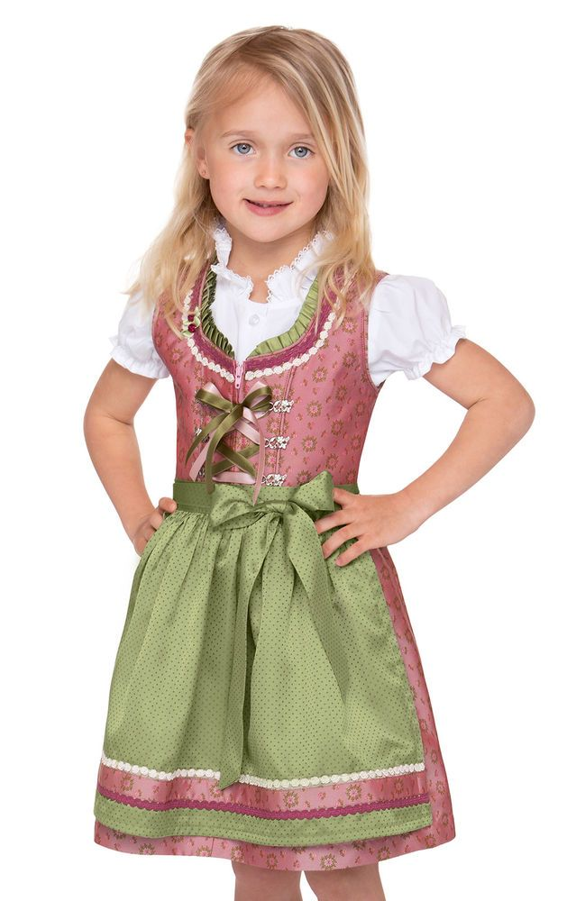 Details about Stockerpoint Traditional Costume Children Dirndl 3tlg. Suki Rose