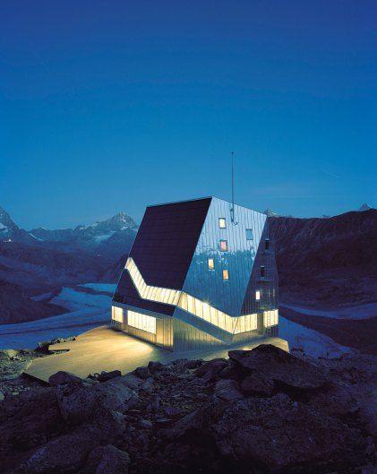 Monte Rosa Hut in Switzerland by Bearth & Deplazes Architekten | Yellowtrace
