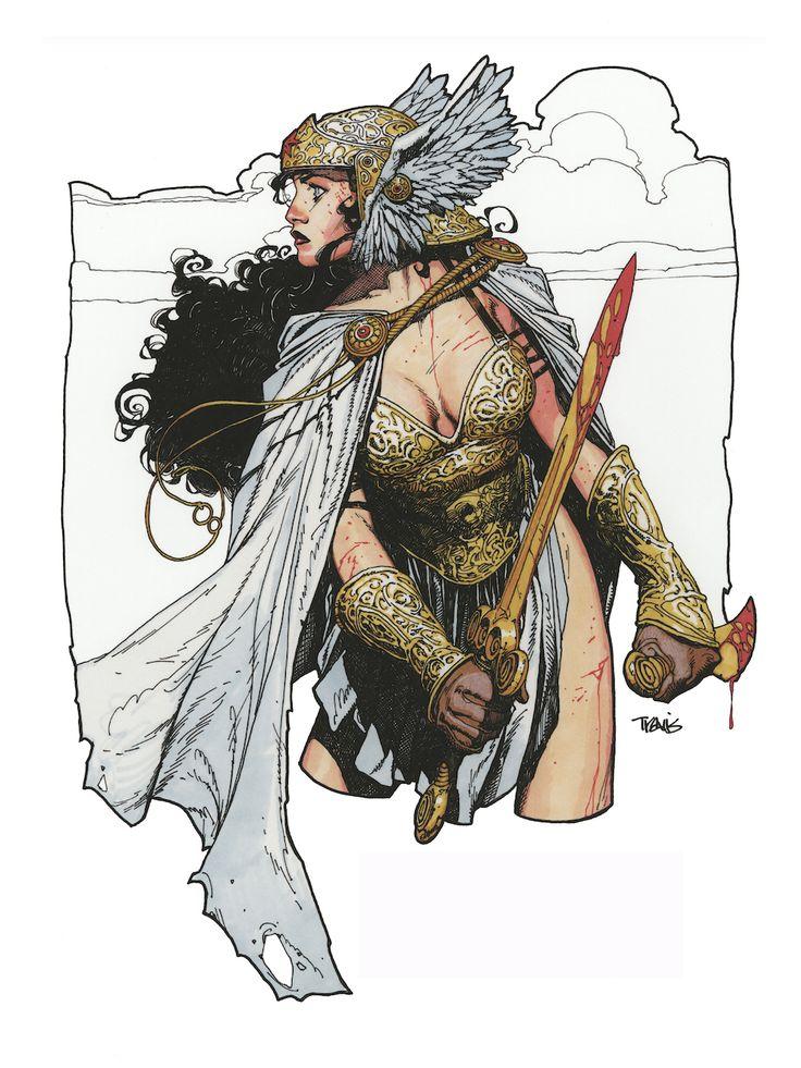 """Wonder Woman"" by Travis Charest"