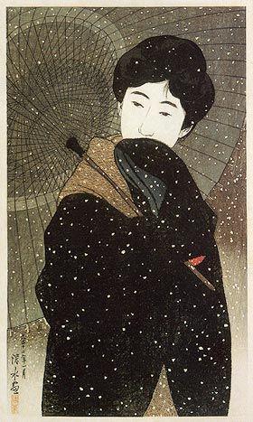 Shin-hanga, movimento artistico degli inizi del XX secolo, che diede nuova linfa all'ukiyo-e.