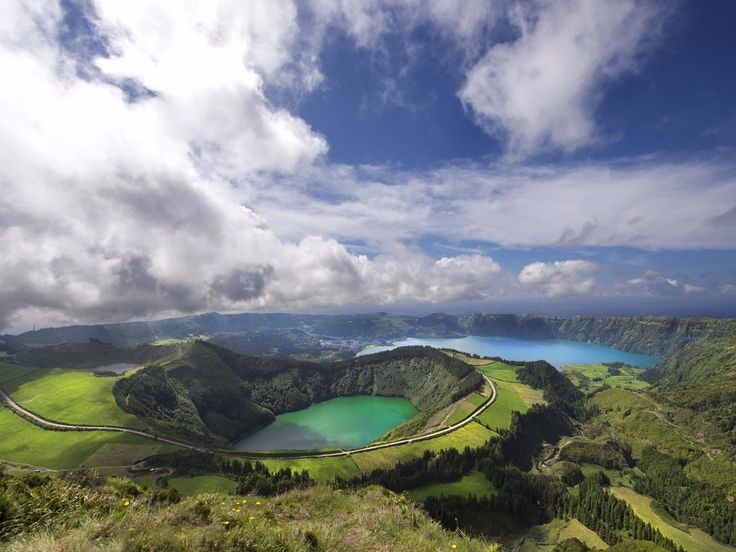 AZORES ISLANDS, PORTUGAL: These nine islands have been referred to as one of the Atlantic Ocean's best-kept secrets. Travelers can find just about every kind of natural wonder here, from beaches and lakes to volcanic caves and waterfalls.