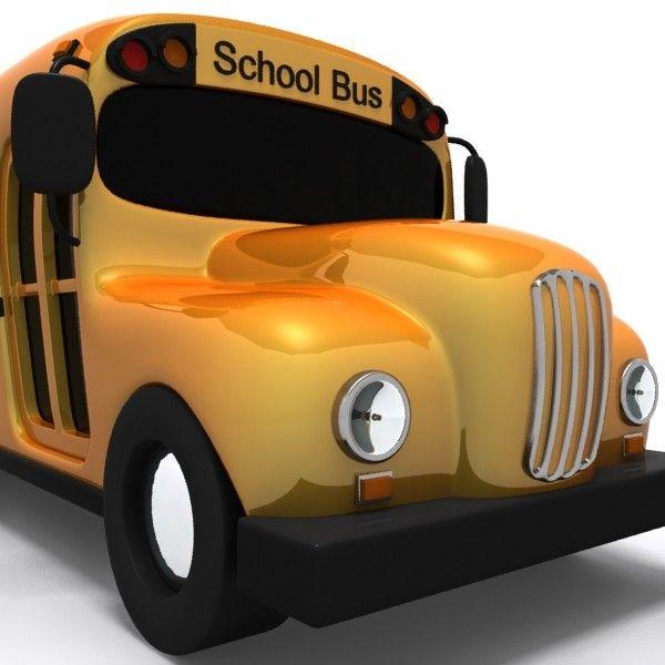 Cartoon School Bus   ulhas Shinde: cartoon-school-bus