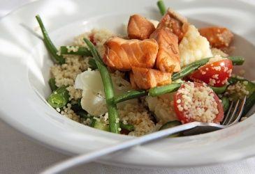 Laks og couscous