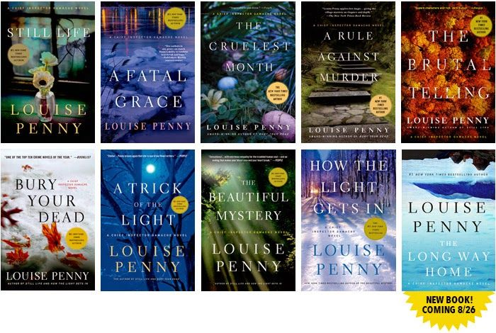 Louise Penny's Inspector Gamache mystery series.  Not just your average whodunit.