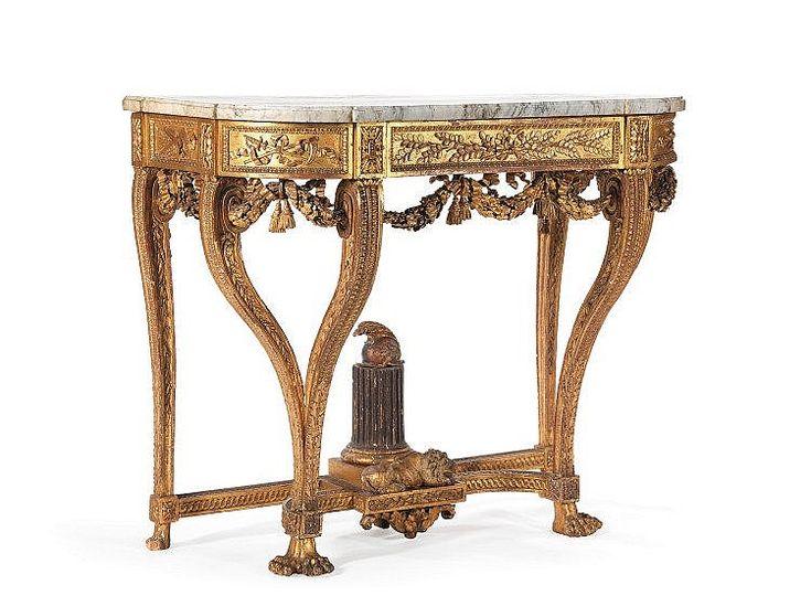 166 best Console Tables Louis XVI images on Pinterest | Antique ...