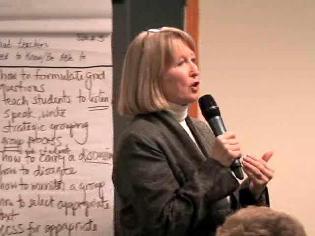 Facilitator meeting: Depth of Knowledge with Karin Hess by DOE