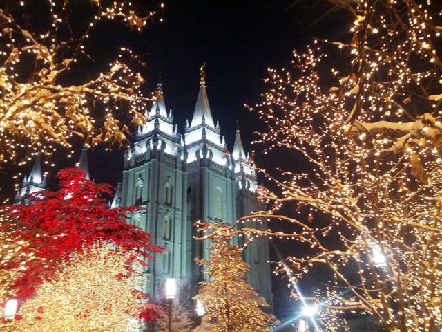 Photo Gallery: Temple Square Lights 2013