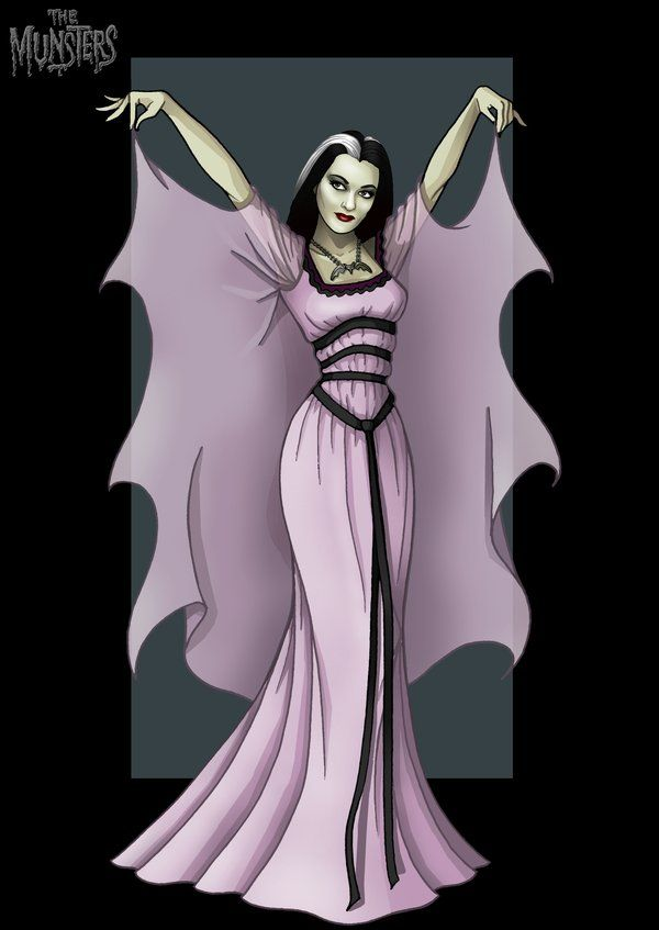 lily munster by nightwing1975.deviantart.com