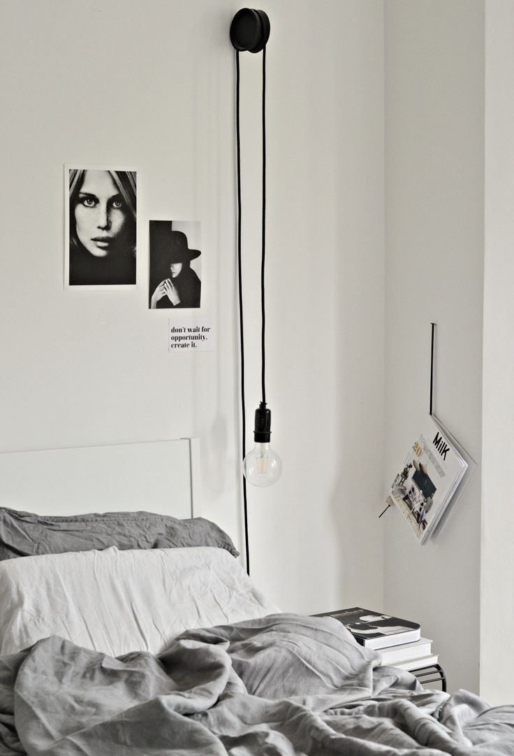 Diy Hanging Bedside Lamps With Ikea Coasters Hanging Bedroom