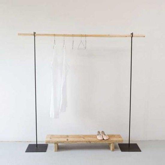 Les 25 meilleures id es concernant penderie sur pinterest armoire design d - Ikea portant vetement ...