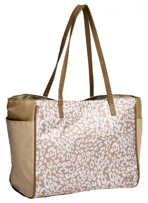 Uptown Cheetah Glove It Ladies Golf Tote Bag. Find the best ladies accessories at #lorisgolfshoppe