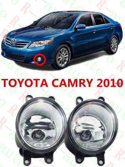 For toyota CAMRY 2010+  cars Exterior  Front bumper light fog lamps Original  Fog Lights  1 set  (Left + right)    81210-06052