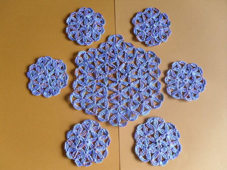 Crochet Flower Of Life Pattern : 1010 best images about Fiber Art Crochet on Pinterest