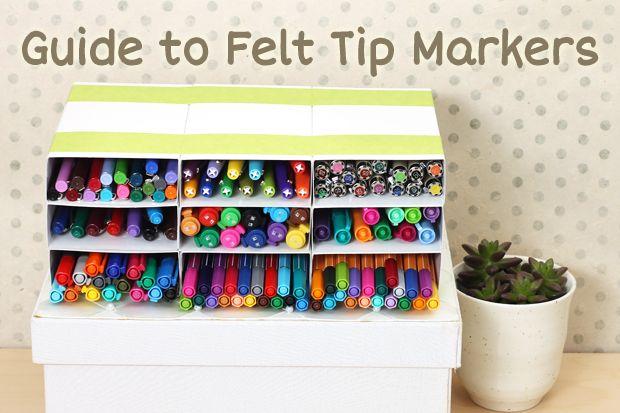 Ever wonder what the best felt tip markers for writing are? Click through to find out! http://www.jetpens.com/blog/guide-to-choosing-a-felt-tip-marker-pen/pt/666?utm_source=pinterest&utm_medium=social&utm_campaign=20140917_blog_guide_felt_tip_marker