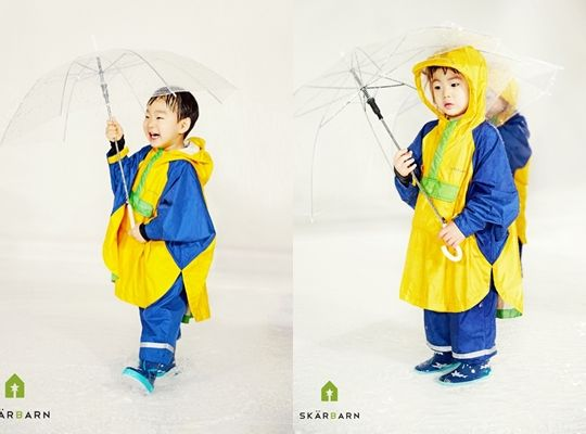#ReturnoftheSuperman #SongIlGook's #SongTriplets for outdoor clothing brand Skärbarn