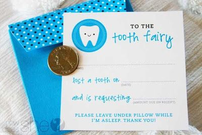 Free Printable Tooth Fairy Letters, Invoice, Certificate and Receipt | Munchkins and Mayhem                                                                                                                                                     More