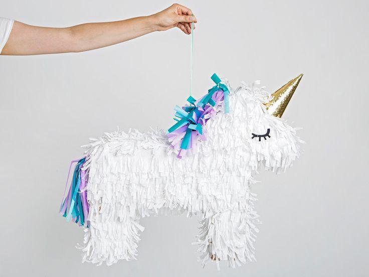 Einhorn-Piñata selber basteln: Einfache DIY-Anleitung
