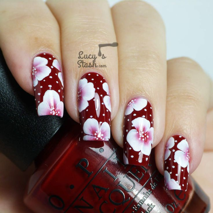 213 best elegant nails nail art design tutorial video gallery by elegant one stroke floral nail arte has one stroke floral tutorial videos prinsesfo Choice Image