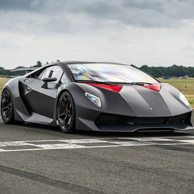 "Lamborghini Sesto Elemento (""sesto elemento"" translates to ""sixth element"". And the sixth element on the periodic table is carbon. And this Lamborghini is almost made of all carbon fiber."