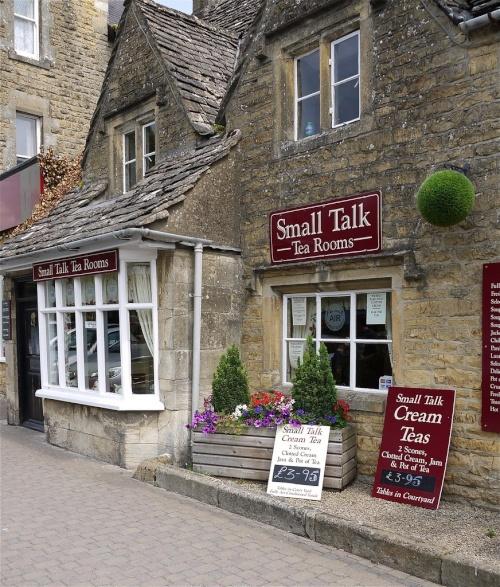 Small Talk Tea Room. Bourton On The Water, Gloucestershire