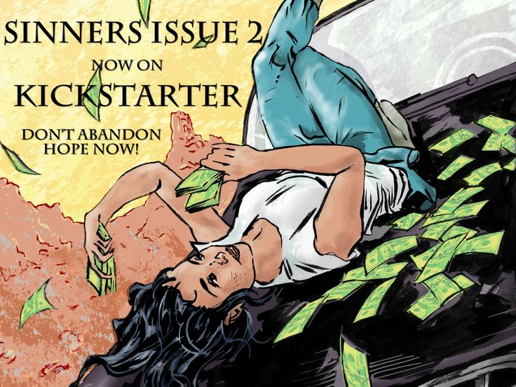 Sinners Comic Book - Issue 2 - Before a Fall project video thumbnail