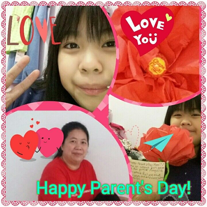 Hi,we are back and we want to say... Happy Parent's Day to the bigger ones