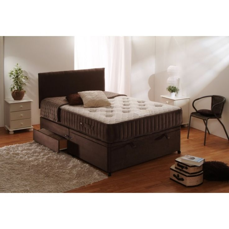 Dura Beds Orthopaedic Ritz Ottoman. Free delivery!