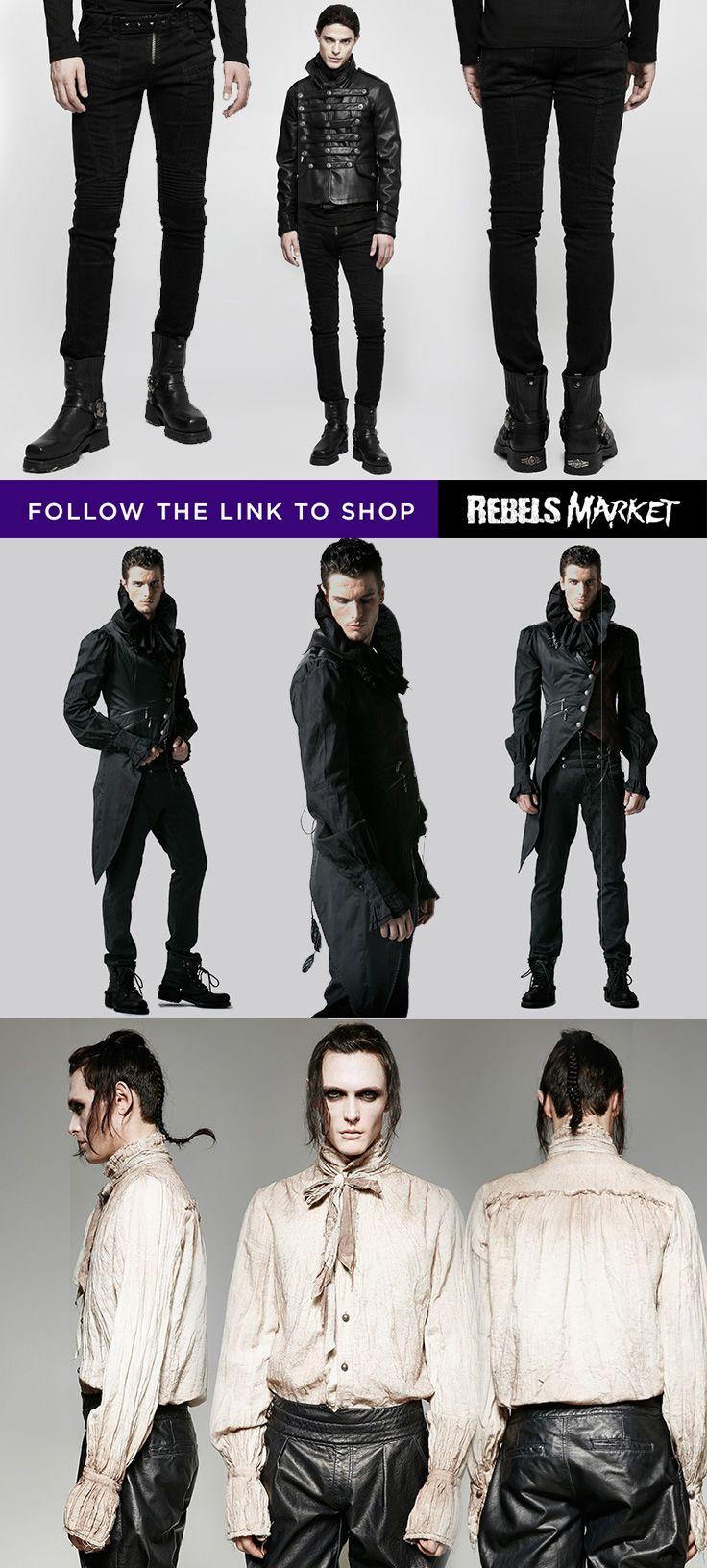 best 25 gothic fashion men ideas on pinterest goth men